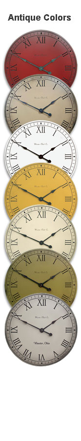 Antique Clock Colors