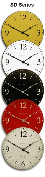 SD Series Clock Colors
