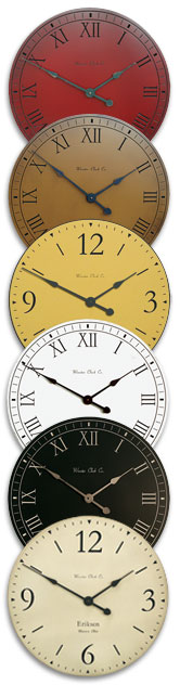 Various Clock Colors